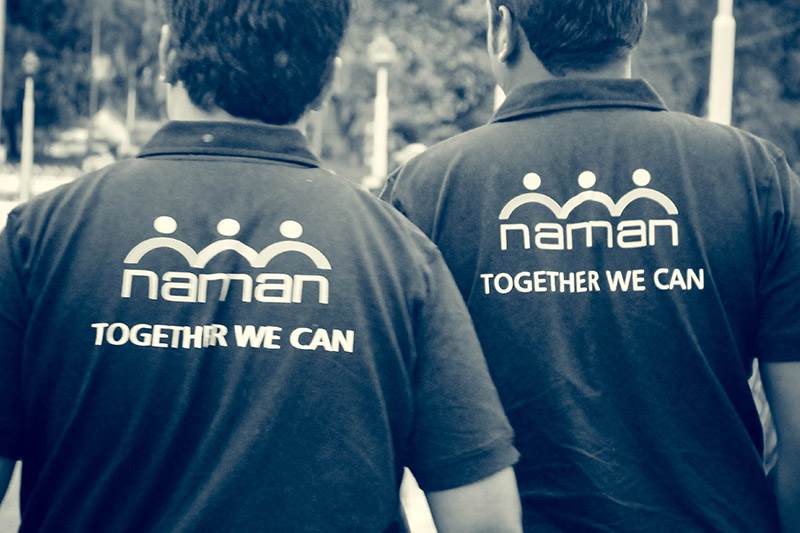 Logo design and T-shirt concept for Naman-4