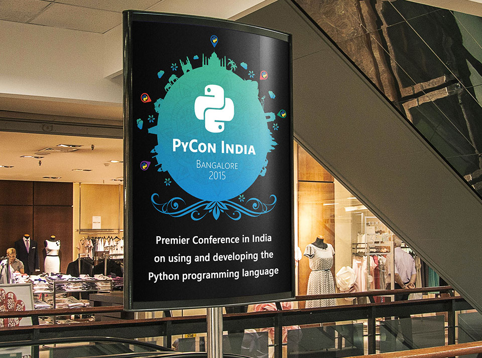 Branding and Concept for Pycon 2015-2