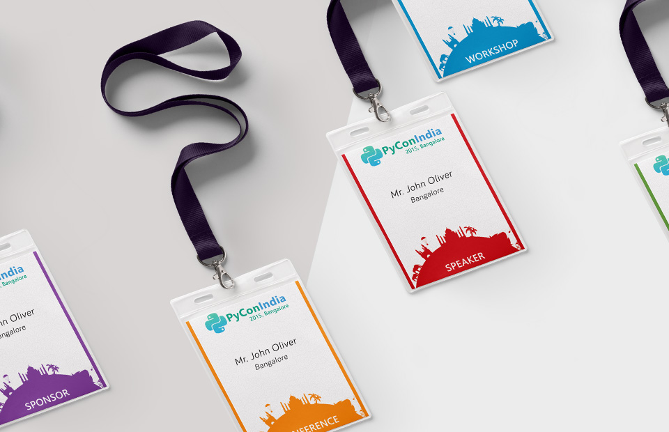 Branding and Concept for Pycon 2015-6