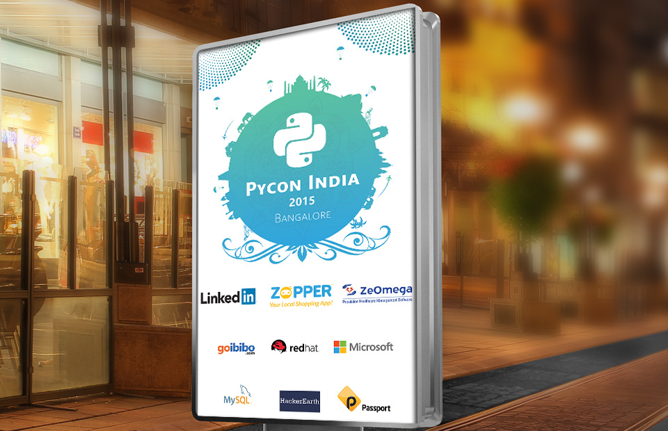 Branding and Concept for Pycon 2015-9