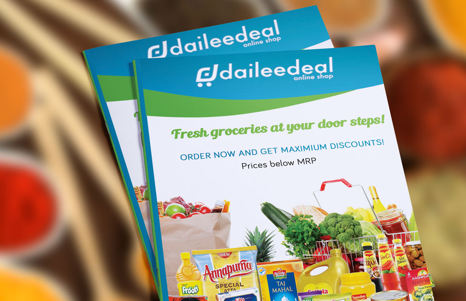Brochures and flyer design for Daileedeal-1