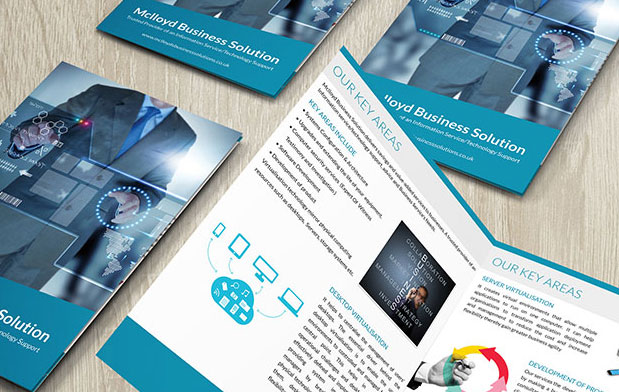 Brochures and flyer design for Mclloyd