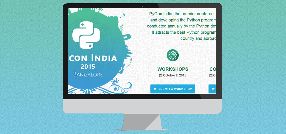 Branding and Concept for Pycon 2015-13
