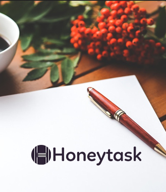 UI/UX and product development for Honeytask